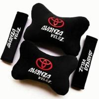 Bantal Mobil Aksesoris Sandaran leher kepala jok mobil Toyota AVANZA V