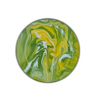 KedaungHome Piring Marble green yellow-HNE10841