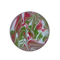 KedaungHome Piring Marble green red-HNE10842