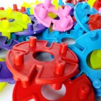 Lego Bombik Tazos Kompor Menara mainan edukatif bongkar pasang