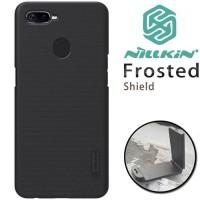 Case Oppo F9 Original Hardcase Nillkin Rubber Mate Cover Casing Black