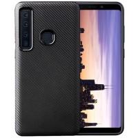 Case & Cover Samsung Galaxy A9 2018 Softcase Carbon Black Silicone TPU