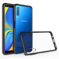 Samsung Galaxy A7 2018 Armor Back Acrylic Hard Soft Cover Casing Case