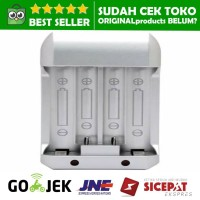 Charger Baterai for AA AAA Ni-Mh 4 Slot BATERY BATTERY RECHARGEABLE