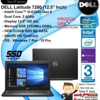DELL Latitude 7280 Intel Core i5-6300U/8GB/512GB SSD/WIN7-10PRO