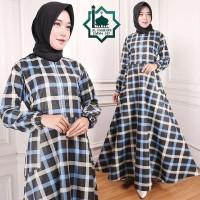 Gamis Maxi Emma (107) Baju Muslim Wanita Gamis Model Kekinian Terbaru