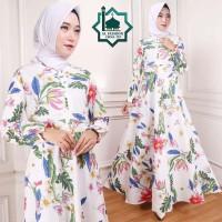 Gamis Maxi Emma (110) Baju Muslim Wanita Gamis Model Kekinian Terbaru