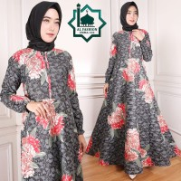 Gamis Maxi Emma (102) Baju Muslim Wanita Gamis Model Kekinian Terbaru