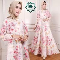 Gamis Maxi Emma (106) Baju Muslim Wanita Gamis Model Kekinian Terbaru