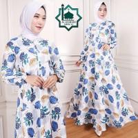 Gamis Maxi Emma (15) Baju Muslim Wanita Gamis Model Kekinian Terbaru