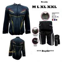 Paket Baju Jersey Sepeda XC dan Celana Padding Murmer Keren