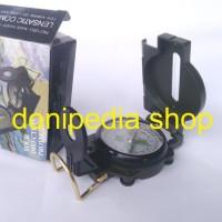 Kompas Bidik - Lensatic Compass Plus Lup Keker & Garis Deklinasi