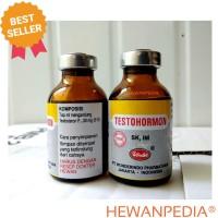 TESTOHORMON 20 ml - Hormon Meningkatkan Reproduksi Hewan Jantan Betina