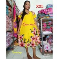 Promo Daster Bali XXL Motif Kembang Sepatu