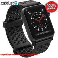 CATALYST Sports Band Apple Watch 4 44mm 42mm V1/2/3 Ori -Stealth Black