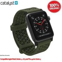 CATALYST Sports Band Apple Watch 4 44mm 42mm V1/2/3 Ori - Army Green