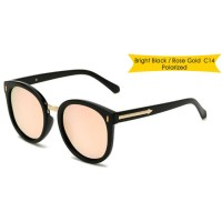 Tiaria Retro Sunglasses TJ2403-C14 Rose Gold Metal Frame Kacamata