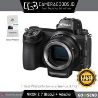Harga nikon z7 mirrorless digital camera with ftz mount adapter   Pembandingharga.com