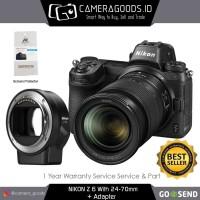 Harga nikon z6 mirrorless digital camera with 24 70mm lens and ftz   Pembandingharga.com