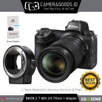 Harga nikon z7 mirrorless digital camera with 24 70mm lens and ftz   Pembandingharga.com