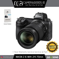 Harga nikon z6 mirrorless digital camera with 24 70mm   Pembandingharga.com