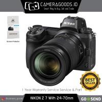 Harga camera goods nikon z7 mirrorless digital camera with 24 70mm   Pembandingharga.com