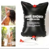 Camp Shower Bag 20 Liter Tas Air Mandi Galon Shower Darurat Camping Ou