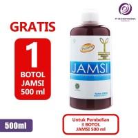 Paket Hemat 4 Jamsi 500ml Obat Herbal Jamu Diabetes Gula Darah