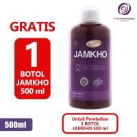 Paket Hemat 4 Jamkho 500ml Obat Herbal Jamu Kolesterol Lemak Darah