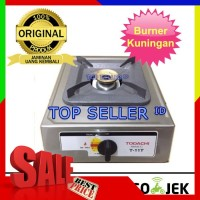 Kompor Gas 1 Tungku SNI Todachi Hitachi Masak Knop Burner Kuningan