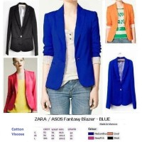 FANTASY BLAZER - BLUE - Made in Morocco - FACTORY OUTLET BRANDED