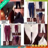 SUPER STREETCH JEGGING celana pants wanita celana panjang wanita baggy