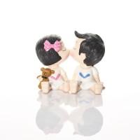 Girl & Boy Couple Figurine Size L Capodimonte