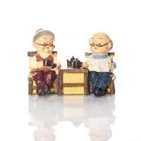 Grandma & Grandpa Couple Figurine BS260 Capodimonte