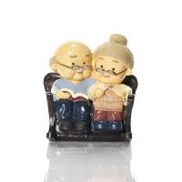 Grandma & Grandpa Couple Figurine BS226 Capodimonte