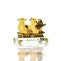 Golden Birds Figurine