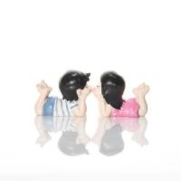 Boy & Girl Couple Figurine Size S Capodimonte