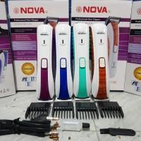 Alat Cukur Rambut | Kumis | Jenggot Charger & Portable Nova Nhc-6138