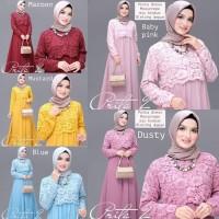 Prita Vol2 V-gamis pesta-dress kondangan-fashion muslim-gamis muslim