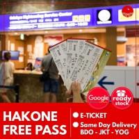 Hakone Free Pass 3 Days Anak Dewasa 3 Days Hakone Pass