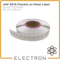 UHF RFID Metal Tag Label Kecil Impinj Monza R6-P EL-UHF-TML7009S