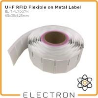 UHF RFID Metal Tag Label Sedang Impinj Monza R6-P EL-UHF-TML7007M