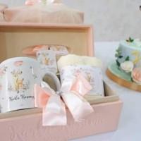 Souvenir Tissue Box Custom/Souvenir Ultah/Hampers Baby One Month
