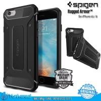 Spigen iPhone 6 6s Rugged Armor Case Soft TPU Drop Guard ORIGINAL