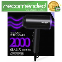 Shunrui Quick Dry  Hair Dryer - XL-6666 - Hitam