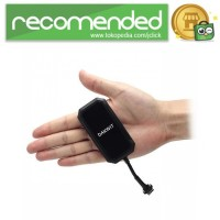 Global Smallest GSM/GPRS/GPS Real Time Tracker - GT03 - Hitam