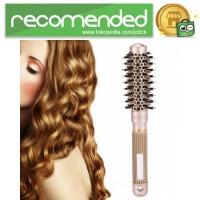 Sisir Rambut Roller Brush Hairstyling High Temperature Ceramic LT-200