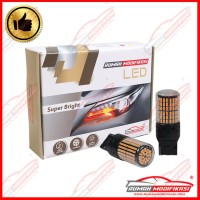 RM - SUPER BRIGHT LED - T20 - 12V - LAMPU SEIN - LED - YELLOW - FS