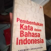 Pembentukan kata dalam bahasa Indonesia