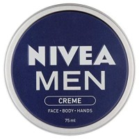 NIVEA MEN Creme, All Purpose Cream for Face, Body and Hands, 75 ml